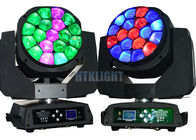 450W LED Wash Moving Head With Entire Casing As Heat Sink + Fan Cooling