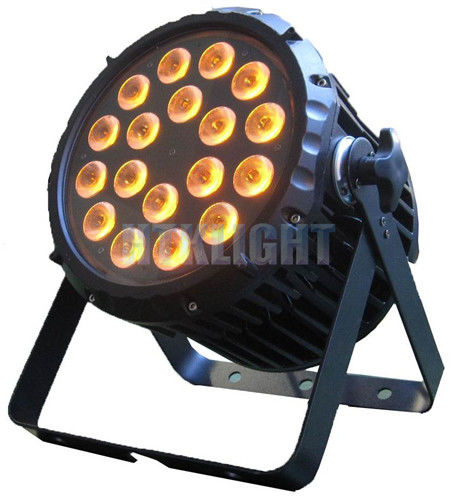 DMX Waterproof LED Par Light 18x10W RGBW 4in1 For Club / Wedding / Party