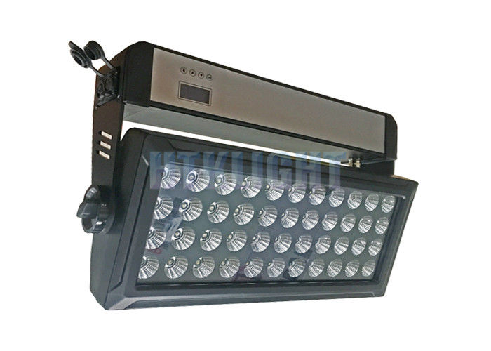 Die - Cast Alluminun 44 * 10 W RGBW 4 In1 LED Flood Light For Building , Stage