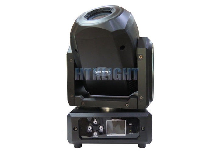 Plastic Housing 90 Watt LED Spot Moving Head Light Low Power Comsumption