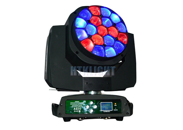 19 X 15watt 4 In1 A.LEDA B-EYE K10 Moving Head Wash Light For Stage Super Bright