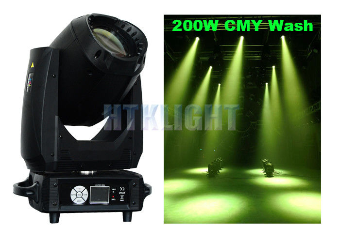 Phantom 250 Cmy Wash Beam Moving Head Light For Theater , TV Studios