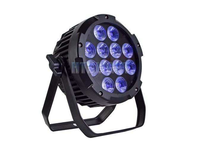 240V RGB LED Stage Light  /   Rgbw LED  Par Can 12x10W  2 Years Warranty