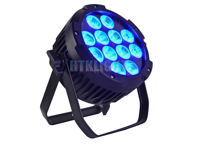 Energy Saving Led Outdoor Par Can 12x10W Rgbw 4 In 1 For Parties