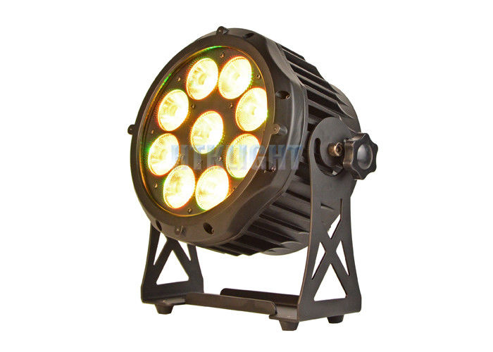 9 X18W RGBWA Led Par Can Light Sound / Auto Control Mode Easy Operation